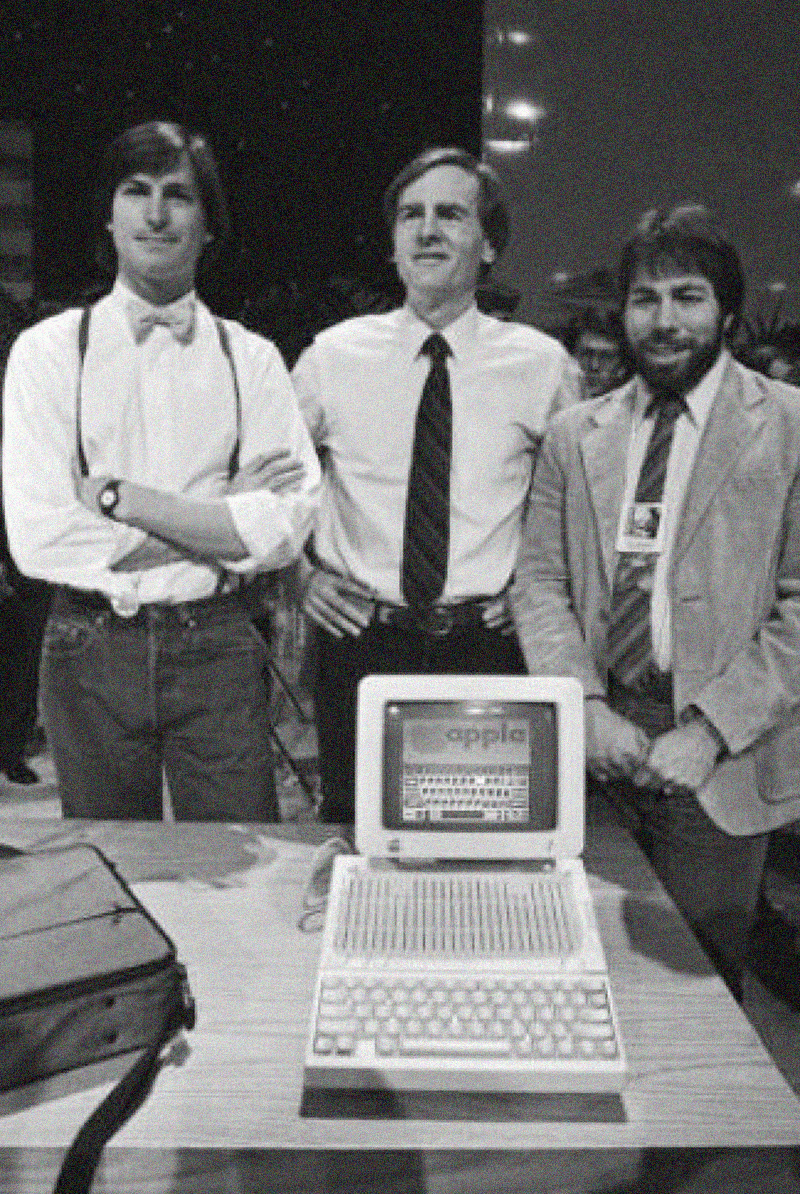 Steve Jobs, Steve Wozniak, and Ronald Wayne