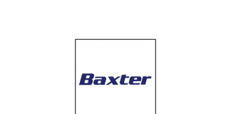 Vector logo of Baxter_headquarters