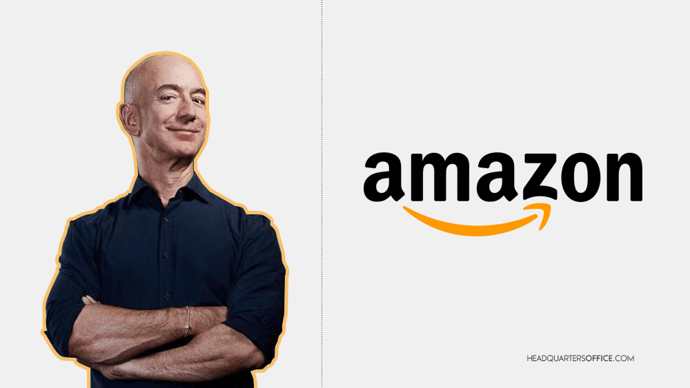Jeff Bezos founder, CEO, and president of Amazon