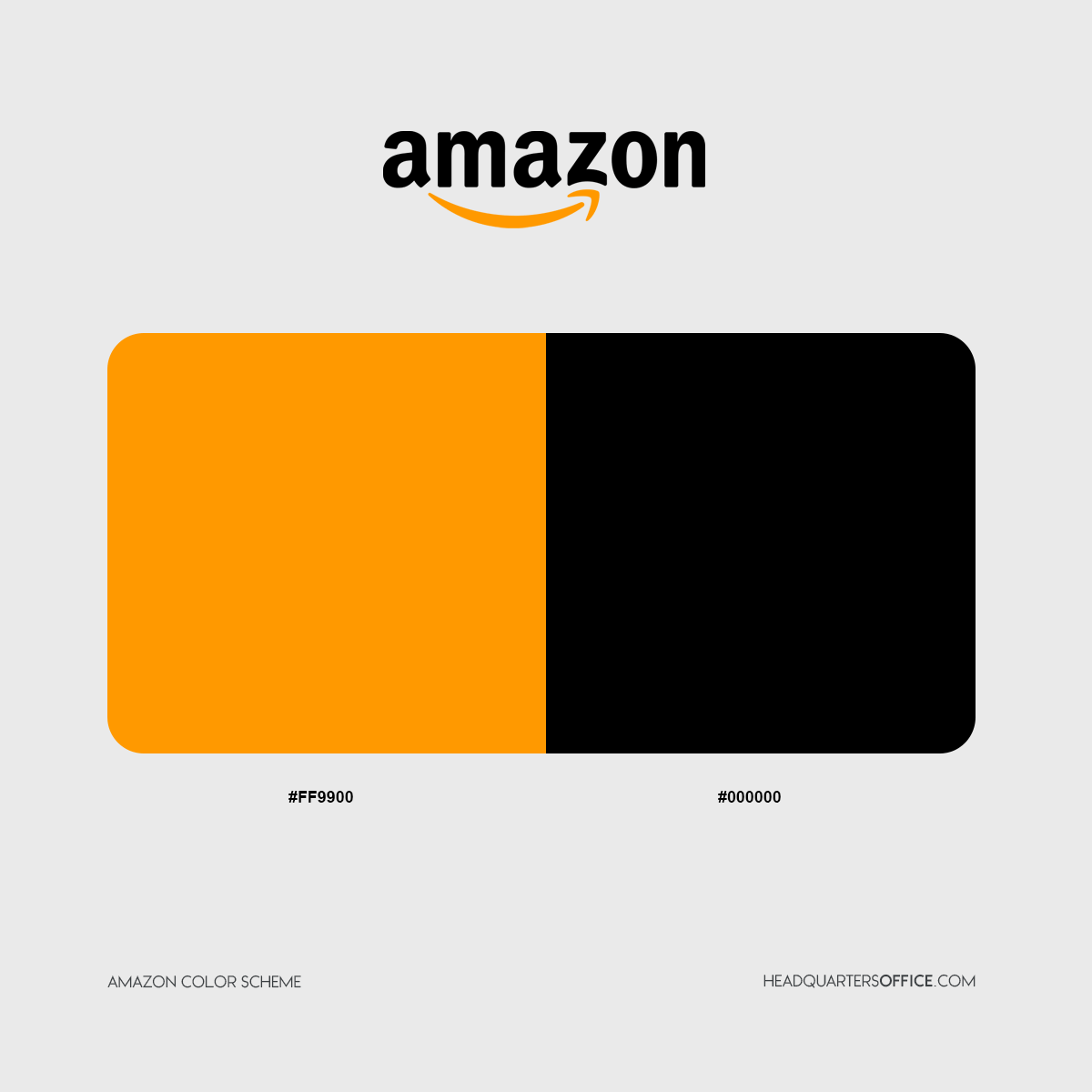 amazon logo colors