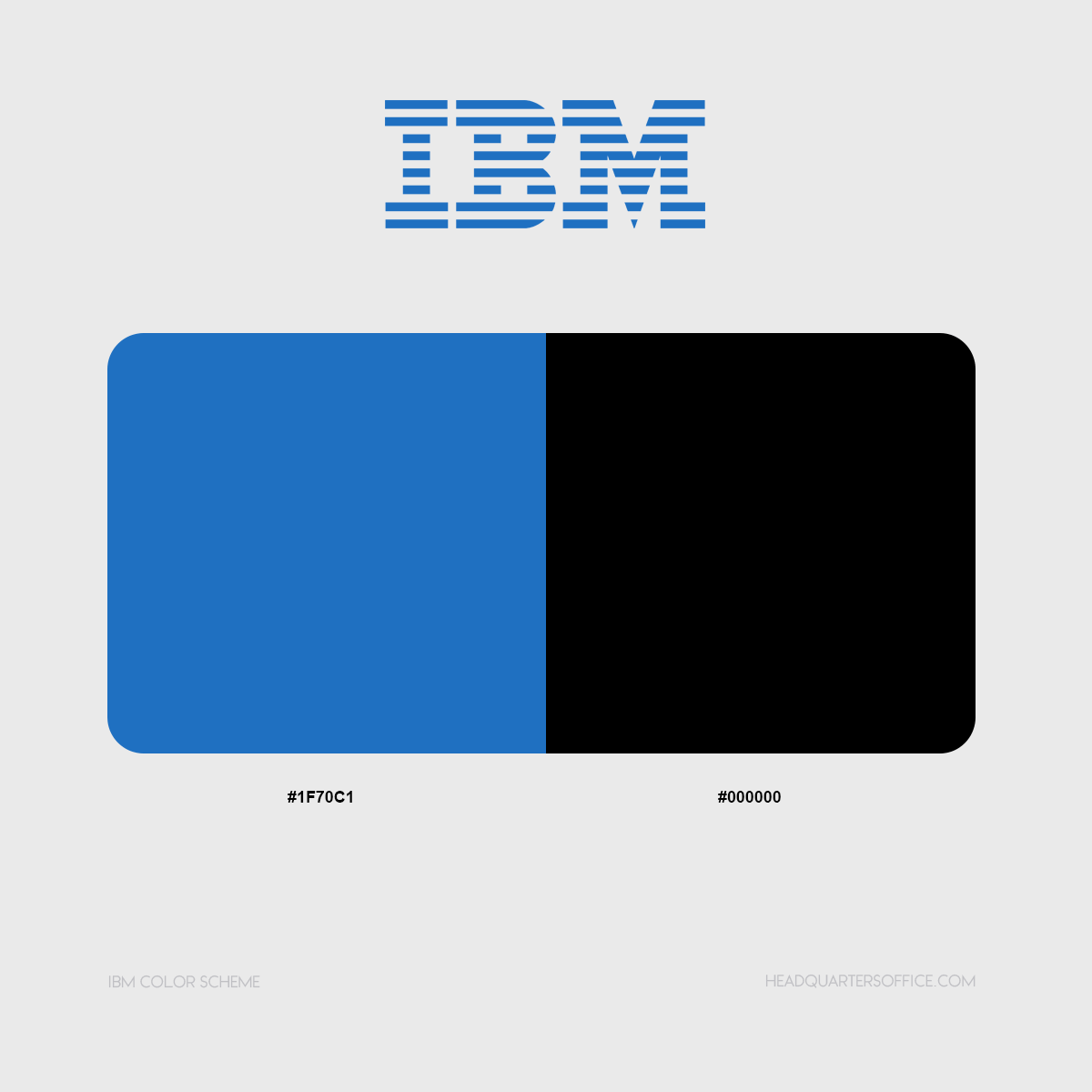 ibm logo colors