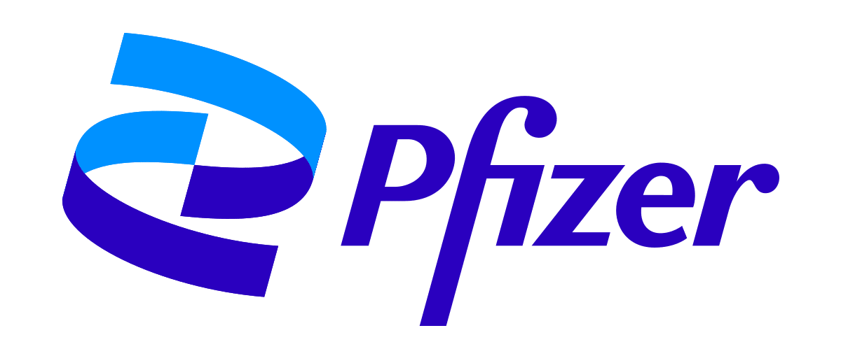 Pfizer new look logo